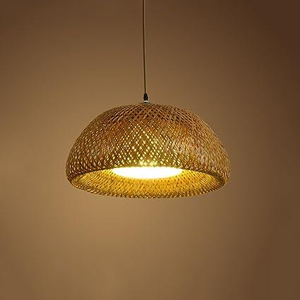 Creative bamboo arts chandelier indoor living room ceiling light restaurant restaurant ceiling lights led lamp illumination