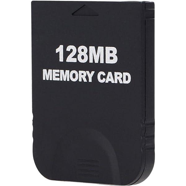 128MB Black Memory Card 2043 Bloques para la consola Wii NGC ...