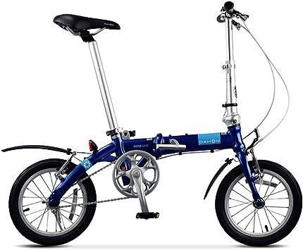 Bicicleta De Ciudad 14 Pulgadas Velocidad única Bici Pliegue ...