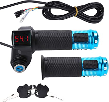 Manillar regulador acelerador eléctrico con indicador de batería ...