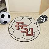 Fan Mats 4927 FSU - Florida State University Seminoles 27'' Diameter Soccer Ball Shaped Area Rug