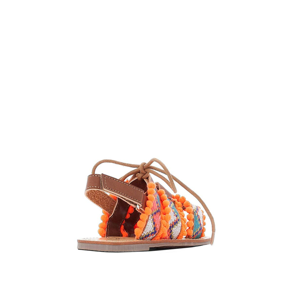 La Redoute Collections Big Girls Pom Pom Sandals