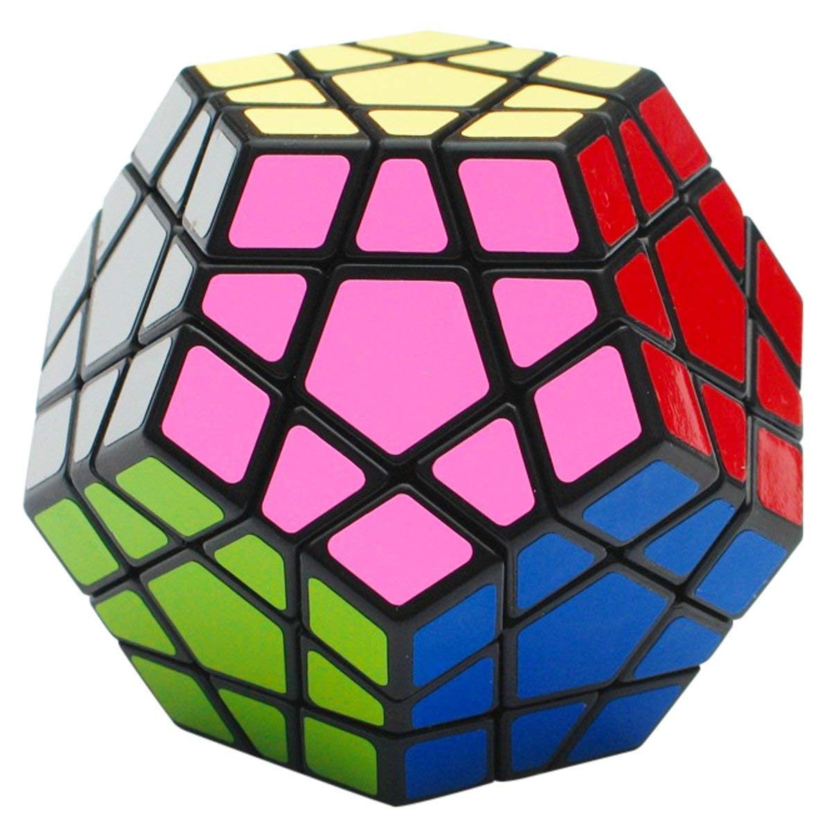 High Quantity Shengshou Megaminx Puzzle Speed Dodecahedron Smooth Puzzle Cube Color Black/white Special Toy Free Shipping Factory Direct Selling Price Magic Cubes