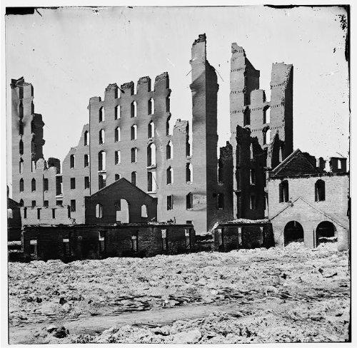 Party Supplies Richmond Va (Photo: Ruined buildings,Burned district,fallen,Richmond,Virginia,VA,Civil War,1865 2)