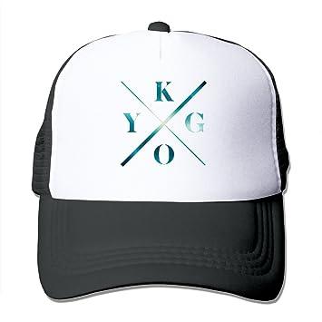 9ff7ef0a9 C-DIY Adult Casual Hats Kygo DJ Music Producer Logo Basketball Visor ...