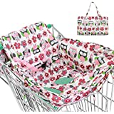 Pueri 2-in-1 Shopping Cart Cover High Chair Cover with...