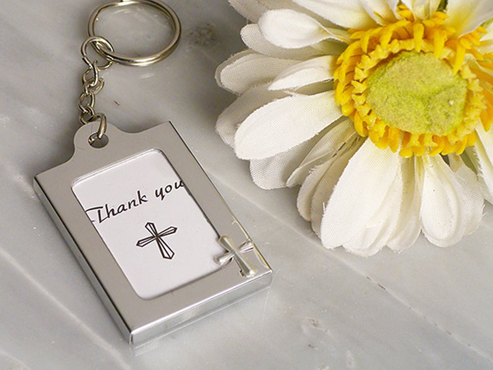 Memorable Moments Cross Design Keychain Photo Frames Cassiani Collection CC 4322