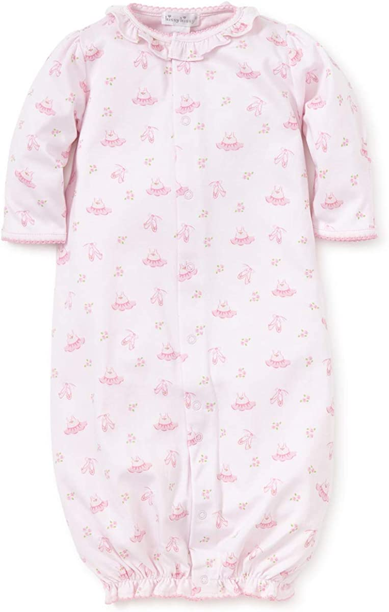 Kissy Kissy Baby-Girls Infant Prima Ballerina Print Convertible Gown