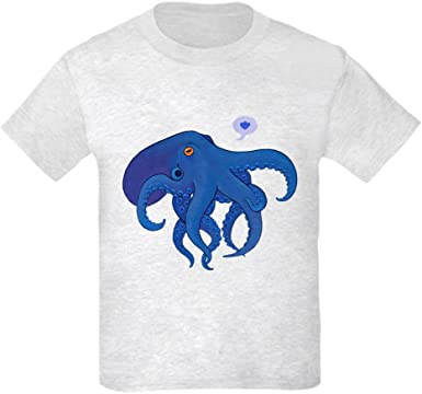 CafePress Octopus Youth Kids Cotton T-Shirt