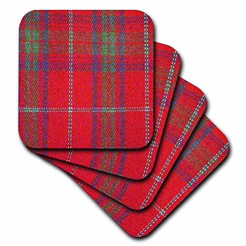 3dRose cst_113037_2 Traditional Red Tartan Pattern-Scotti...