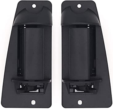 Extended Cab Upgrade 3rd Side Black Exterior Outside Door Handle for Chevy Truck