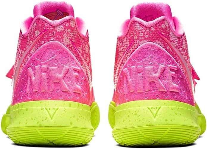 construcción T Hacer  Amazon.com: Nike Kyrie 5 (GS) SBSP Spongebob/Patrick Lotus Pink: Shoes