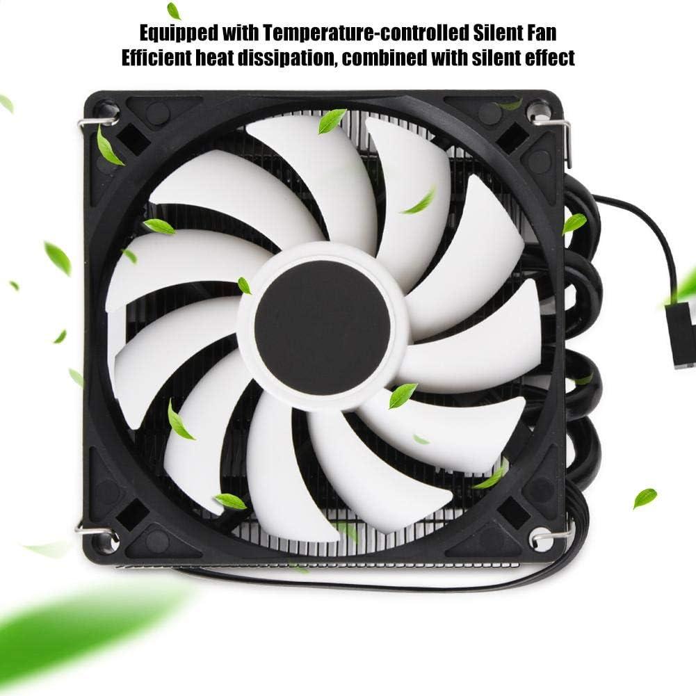 Bewinner IS-40X Radiador silencioso Ultrafino para CPU 12V DC ID-Cooling ITX Heat Pipe Down Pressure CPU Cooling Radiator Fan Disipador de Calor HTPC Compatible con Intel//AMD