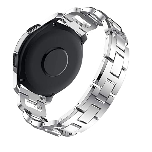 Strap Relojes para Hombre y Mujer de Diamante Brazalete D Palabra Pulsera de Manera Wristbands Acero Inoxidable Bandas de Elegante Cadena: Amazon.es: ...