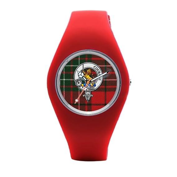 Hey U Cumming Rubber Wrist Watches Red