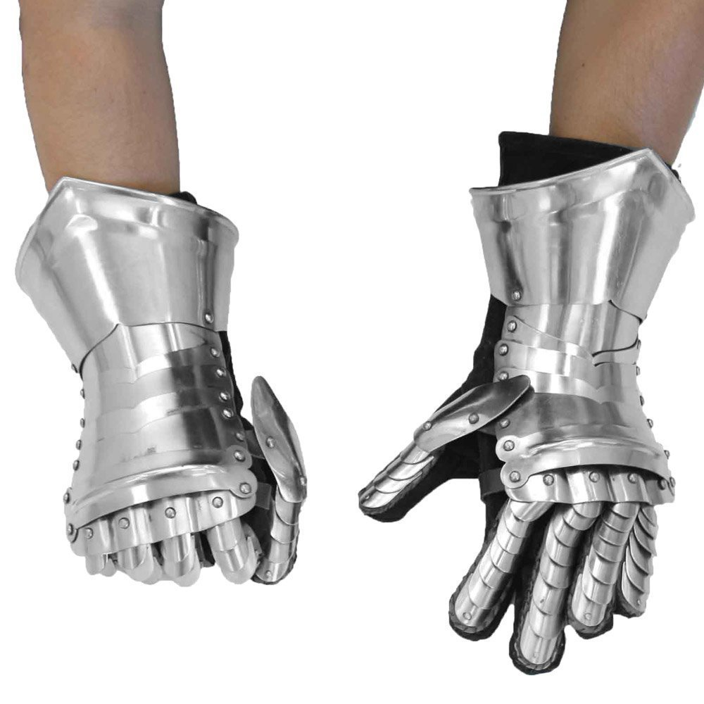 Medieval Style Gauntlets Functional Armor Gloves halloween costume