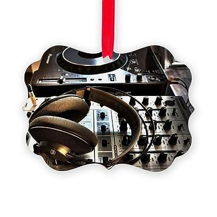 CafePress - Musica Cascos - Christmas Ornament, Decorative Tree Ornament
