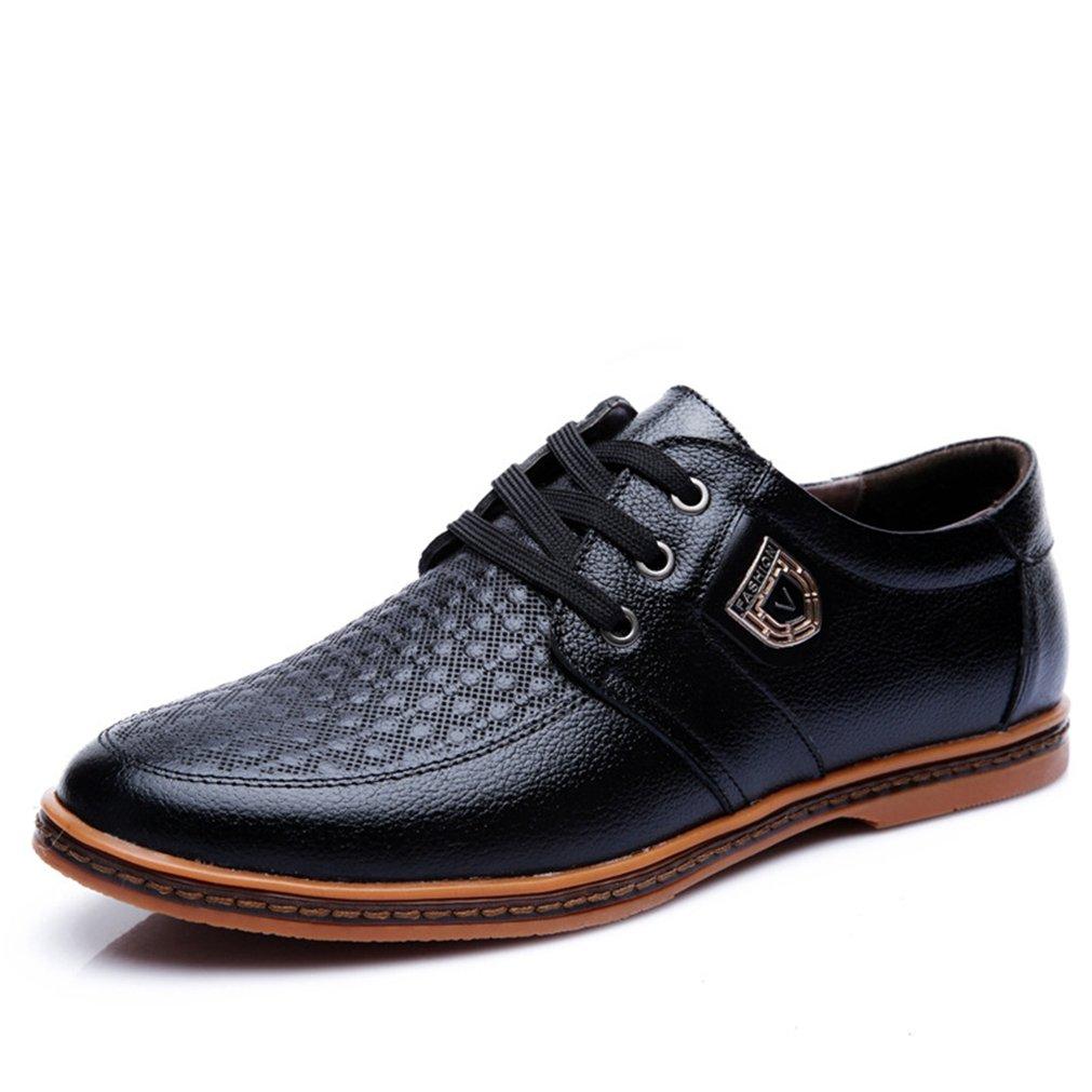Feidaeu Zapatos Hombre 42 EU|negro Zapatos de moda en línea Obtenga el mejor descuento de venta caliente-Descuento más grande