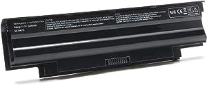 J1KND Battery for Dell inspiron N5110 N5010 N5040 N5050 N7010 N7110 N4110 N4010 M5040 M5010 3520 3420, Vostro 3450 3550 3750 Fit 07XFJJ WT2P4 04YRJH 8NH55[11.1V 5200mAh 6Cell]