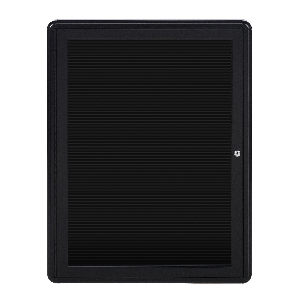 Ghent 34'' x 24'' 1-Door Ovation Letter Board, Black Frame (OVK1-BBK)