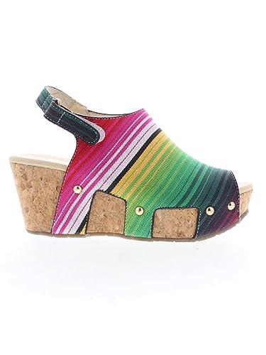d33c0190a Volatile Women s Picadillo Wedge Sandals (7 M US