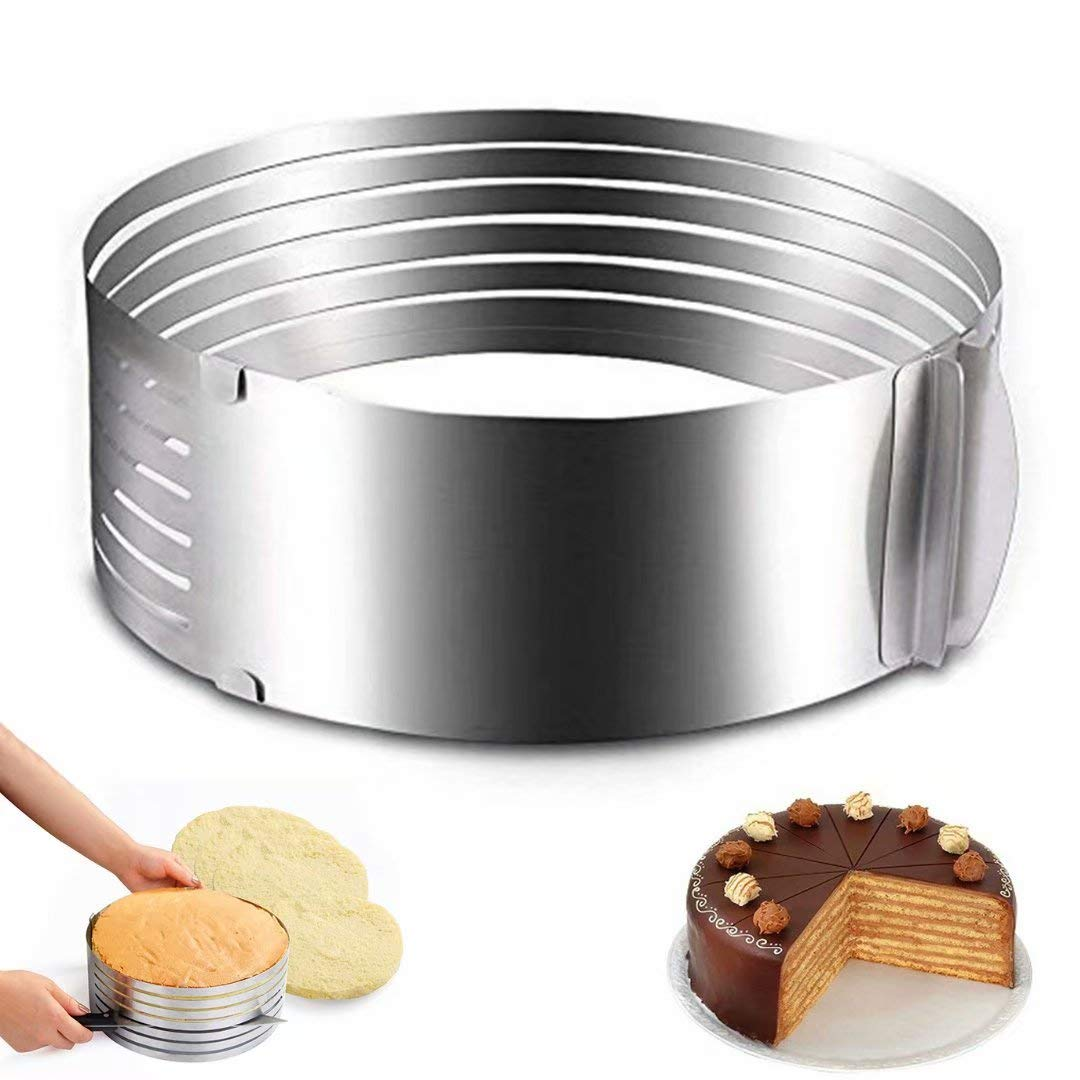 Ideal Swan Taglia Torta Anelli Torte Stampo Torta Cake Ring Affettare Affettatorte Anello per /Ø 23 e /Ø 30 cm