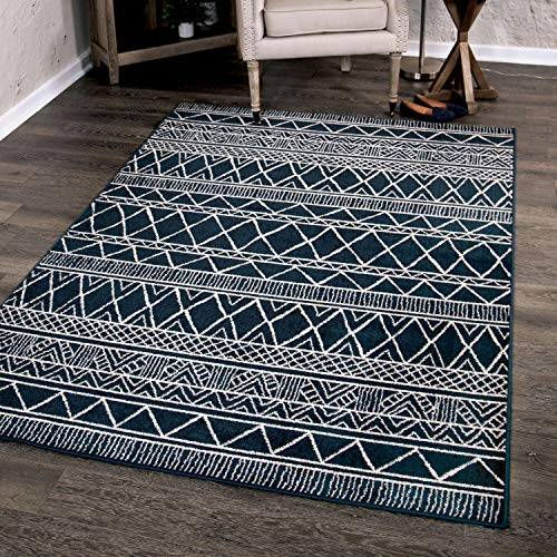 - Orian Rugs Farmhouse Sonoma Collection 410006 Indoor/Outdoor Grand Turk Area Rug, 5'2