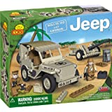 COBI Small Army Jeep Willy's M38 Historical Replica with Cannon, 180 Piece Set