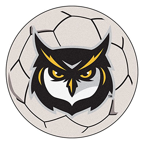 (NCAA Kennesaw State University Owls Soccer Ball Mat Round Area Rug)