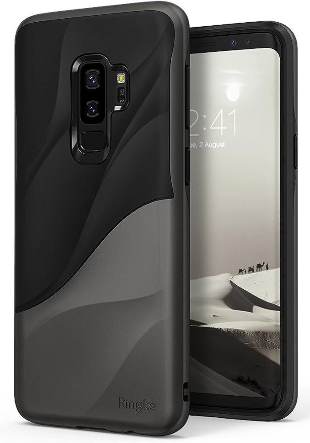 47 opinioni per Ringke Cover Galaxy S9 Plus, Wave [Metallic Chrome] [Supporta la Carica