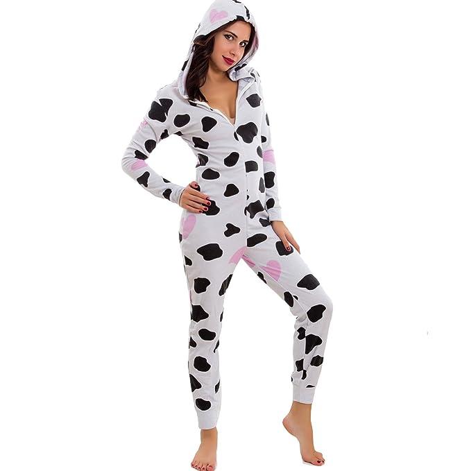100% autentico ac576 96e62 f50f76f1c pigiama mucca donna - promozionecellole.it
