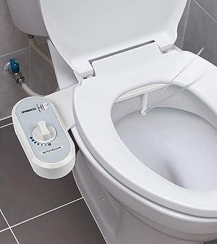 Toilet Seat Attachment Fresh Water Spray Non Electric Bidet Mechanical Bathroom