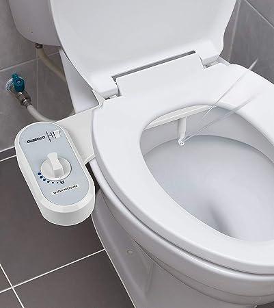 Greenco Bidet Fresh Water Spray Non Electric Mechanical Bidet Toilet Seat Attachment Amazon Com