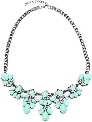 Moda Para Mujer Resina Burbuja Colgante Collar Cadena Collar de Declaración Publica Gratis