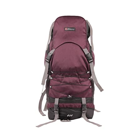 "Bleu Backpack Rucksack Bag 212 - (Wine Color 23"", Dimensions (LxBxH):- 11x10x23 inches) Rucksacks & Trekking Backpacks at amazon"