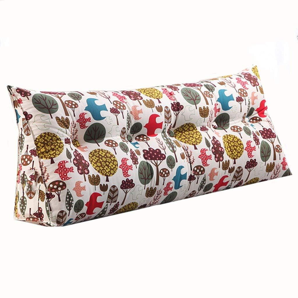 ダブルベッド腰用枕ソファソフトバッグクッション取り外し可能で洗える枕、2色 :、5サイズ 150cm) (色 : 1#, サイズ さいず 120CM : 150cm) B07R8NR19Q 120CM|2# 2# 120CM, マルサンのりオンラインショップ:0fdd0c45 --- cgt-tbc.fr