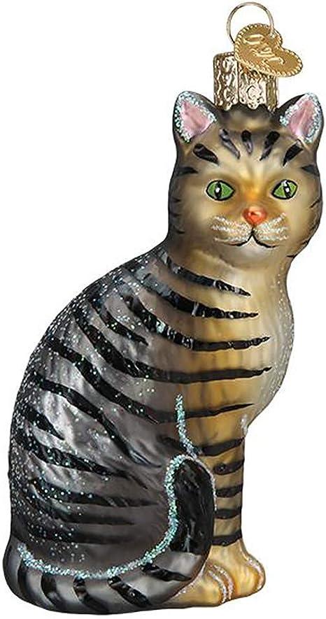 Tabby Cat Old World Christmas