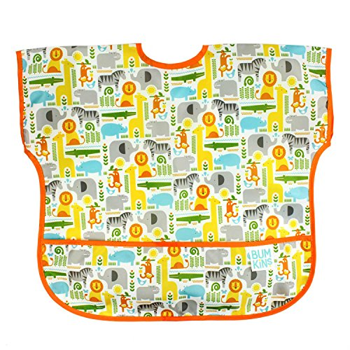 bumkins-petit-collage-waterproof-junior-bib-safari-mix-1-3-years