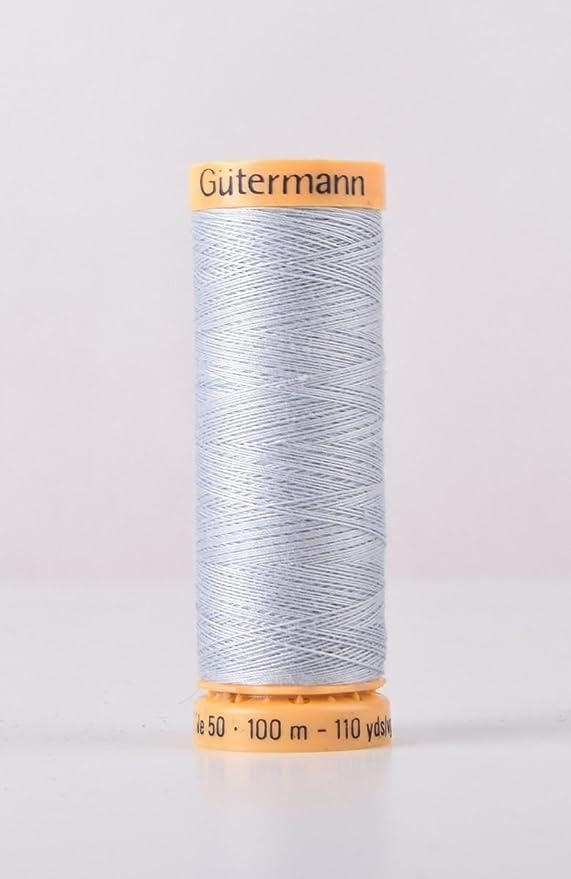 Gutermann algodón Natural 100 m acolchado para máquina de coser ...