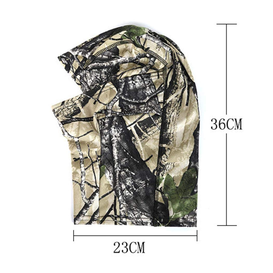Butiline Camouflage Face Masks Tactical Paintball Wargame Military Airsoft Protection Full Face Mask