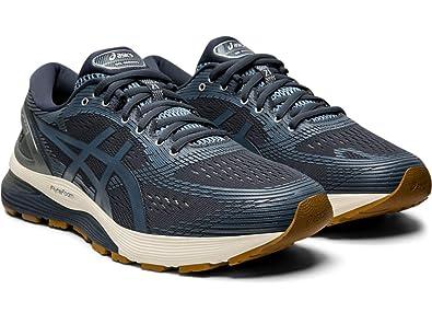 | ASICS Men's Gel Nimbus 21 Running Shoe, Tarmac