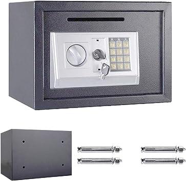 Caja de Seguridad Digital y Resistente al Bloqueo de Llaves, 35 x ...
