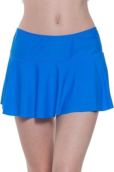 YoungSoul Faldas de Bikini Mujer, Shorts de baño de Playa culotes ...