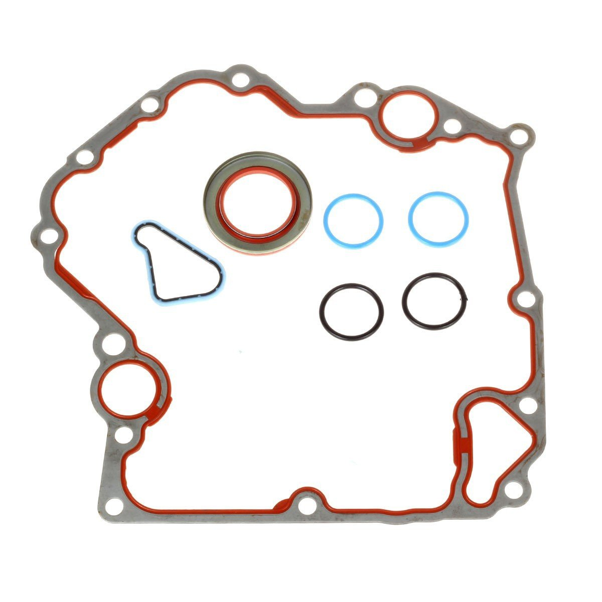 Timing Cover Gasket Kit TCS46000 Fits for 1999-2009 Dodge Jeep Mitsubishi 3.7L 4.7L, for 2006-2007 Mitsubishi Raider 4.7L Vin N, for 2004-2009 Dodge Dakota 3.7L Vin Code K by Vincos