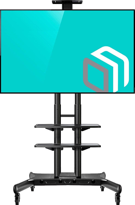 ONKRON Supporto TV da pavimento universale per shermi da 32' a 65' LCD QLED e TV curvi TS15-51