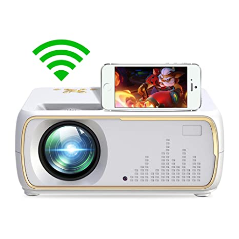 BMG Proyector HD, Pantalla Completa Inalámbrica Full HD LED ...