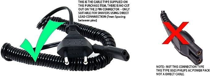 Cable Universal para Afeitadora Electrica: Amazon.es: Hogar