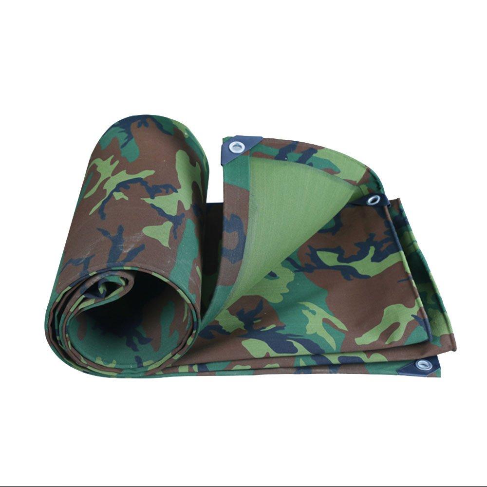 XING ZI tarpaulin X-L-H Militär Tarnt Segeltuch-starken Wasserdichten Tuchwasserdichten Sonnenschutzplaneüberdachungsöl-Überdachungszelt-Regenstoff