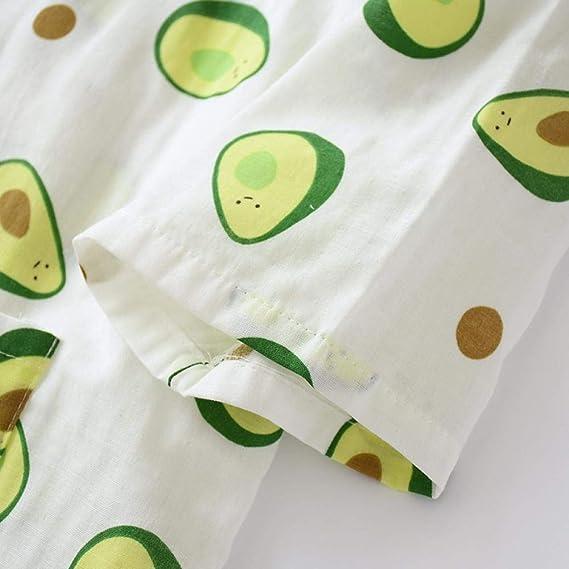 Camis/ón de Pijama de Kimono de algod/ón para Hombre japon/és con Bata Gris, Talla XL