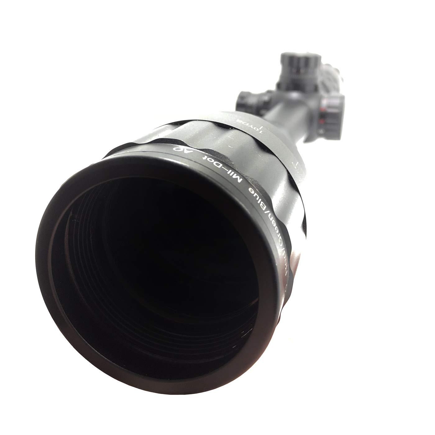 Huntiger Lunette De Vis/é e 6-24x50 pour Fusil De Chasse Airsoft